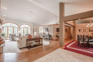 W1166 Hidden Oaks Living/Dining Rooms